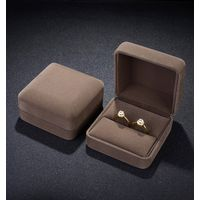 ZHIBO Iron Metal jewelry gift boxes for necklaces