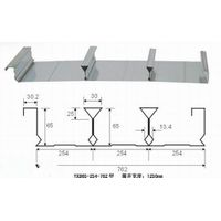 Closed type steel deck plate for metal floor