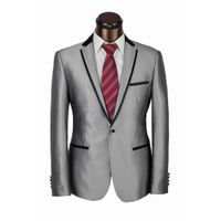 Man's Wedding Suits Fashion Suits Gray Suits