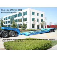 China lowbed trailer