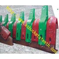 Lip shrouds for excavators,loaders