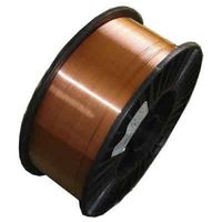 copper coated steel welding wire AWS A5.18 ER70S-6 precisionly winding on black plastic spool