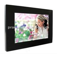 """video and picture digital photo frame for 12"""" (TFT LED screen)"""