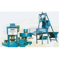 JS-600 Automatic terrazzo tile press machine