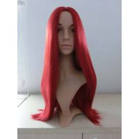 Long red cosplay wig for sale thumbnail image