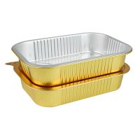 Smoothwall Aluminum Foil Rosasting Grill Tray with foil lids thumbnail image