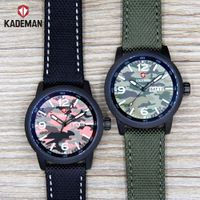 Kademan Full Black Luxury Automatic Watch Alloy Man's High Quality Wrist Watch