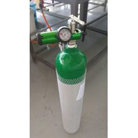 Portable Aluminum Gas Cylinder Diving Bottle Medical Oxygen Cylinder