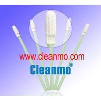 Anti-static small polyester head cleaning swab