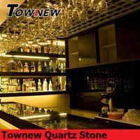 luxury bar top countertop use quartz stone TNC-5053 thumbnail image
