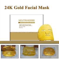24k Gold Collagen Crystal Anti Aging Moisturizing Facial Mask for skin