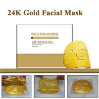 24k Gold Collagen Crystal Anti Aging Moisturizing Facial Mask for skin