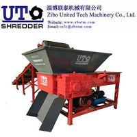 Metal Crusher Paper Wood Plastic Machine Single Shaft Shredder S40100