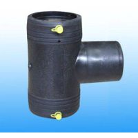 Reducer tee hdpe electric fusion tee for gas pipe