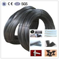 good quality Soft black iron wire as Loop Tie Wire
