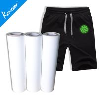 Kenteer low price glow in dark heat transfer vinyl for T-shirt