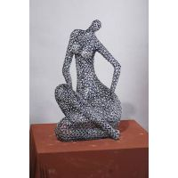 Stainless steel figurine bust thumbnail image