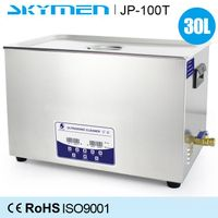 30L large table top ultrasonic equipment for industrial and precision cleaning