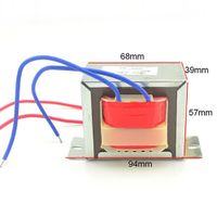 Ei 57 Low Frequency Power Transformer
