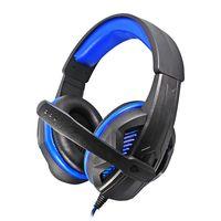 LED Illuminated Stereo Headset LED Headphone Breathing Light