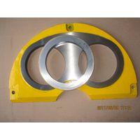 Sermac concrete pump spare parts wear plate DN200 thumbnail image