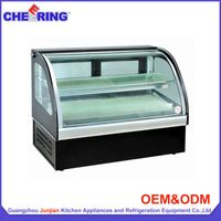 Display refrigerated showcase
