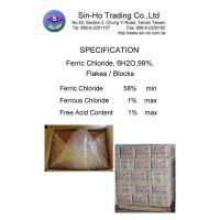 Ferric Chloride 60% min.(Lump/Blocks))