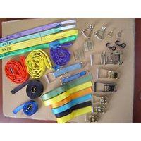 Supply flat webbing sling,round sling,ratchet lashing,ratchet tie down thumbnail image