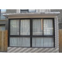 double glazing glass aluminium door