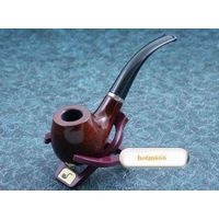 Free Shipping 10pcs/lot New Rose Wood Wooden Tobacco Smoking Pipe Hand Made Men's Gift Christmas Gif