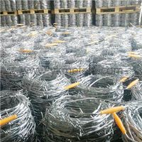 Hot Dipped Galvanized Barbed Wire      concertina wire manufacturer