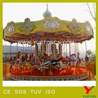 Outdoor equipment fairground game christmas carousel for sale