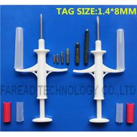 RFID Animal Microchip Injector 1.4x8mm/10mm, pet microchip for dog with syringe thumbnail image