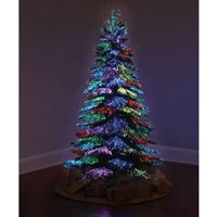artificial fiber optic Christmas Tree