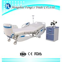 2017 new style 3 functions manual hospital bed medical bed