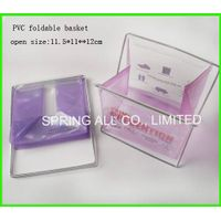 Foldable small pvc sundry basket thumbnail image