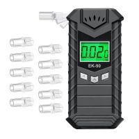 2020 Newest Private Mode Rechargeable Electronic Display Alcohol Breath Tester thumbnail image