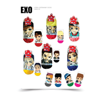 Korean Kpop Idol Character Fashion Socks thumbnail image
