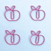 fruit shaped paper clips