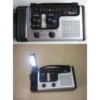 Solor radio with torch