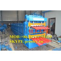 IBR Color Metal Roof And Wall Sheet Cold roll forming Machine Metal Roofing thumbnail image