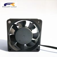 24v dc 60mm ventilateur 60x60x25mm 6025 ventilator brushless axial cooling fan