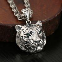 S925 Silver Men's Necklace Pendant P5318