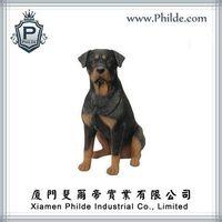 Vivid Dog Decorative Resin Animal Statue,Animal Sculpture