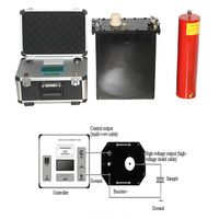 Portable 60KV VLF-80 ultra low frequency generator ac hipot vlf For Electrical Insulation Tester thumbnail image