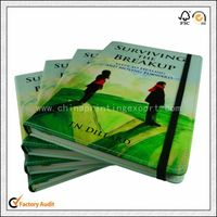 Top Quality Full Color Cover Leather Book Printing