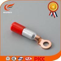 Haiwe wholesale super quality DTL connector lug al/cu 70mm2 / tin bimetal cable lugs types