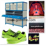 sports shoe upper making machine,leather embossing machine CE approved