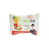 Freeze drying vegetable block