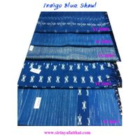 Indigo Blue Cotton Shawls
